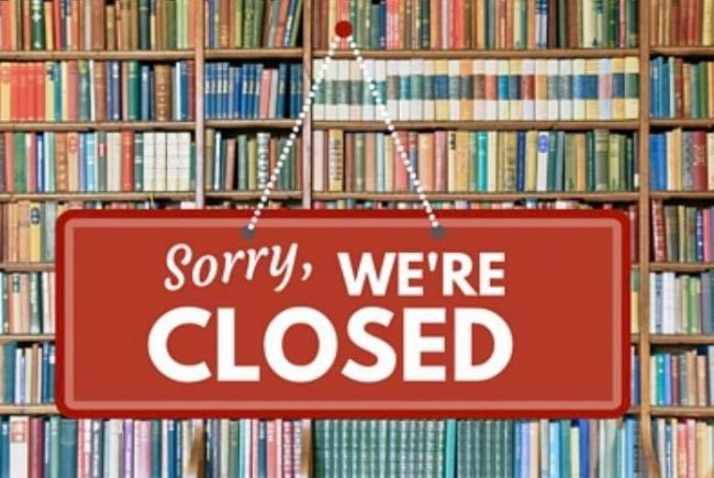 Library Closed to Public