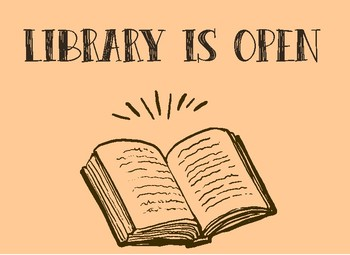 Library Reopens January 19 at 10am